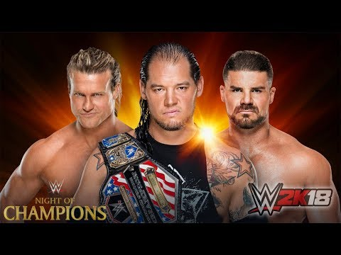 WWE Clash Of Champions 2017 - Dolph Ziggler vs. Baron Corbin vs. Bobby Roode - United States