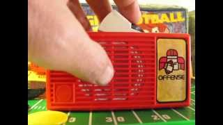 ABC Monday Night Football Talking Board Game by Mattel Vintage Sports Toy from 1977