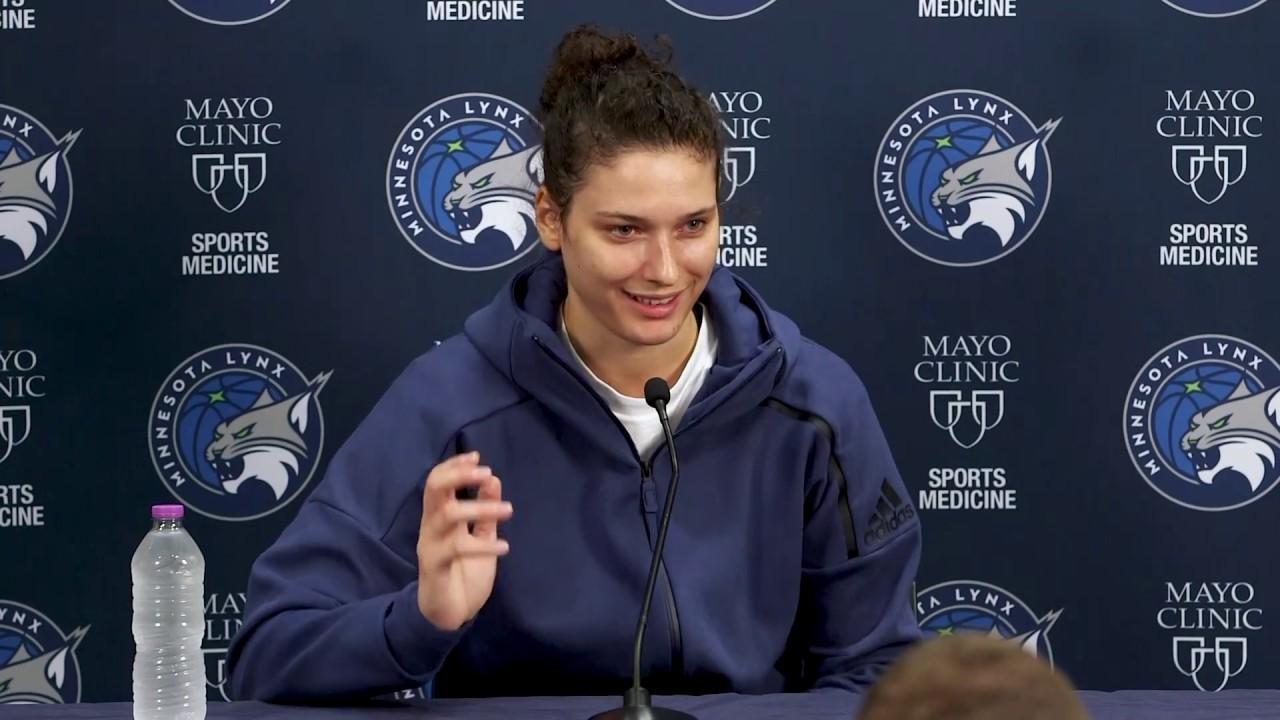 Minnesota Lynx: Cecelia Zandalasini End of Season Presser