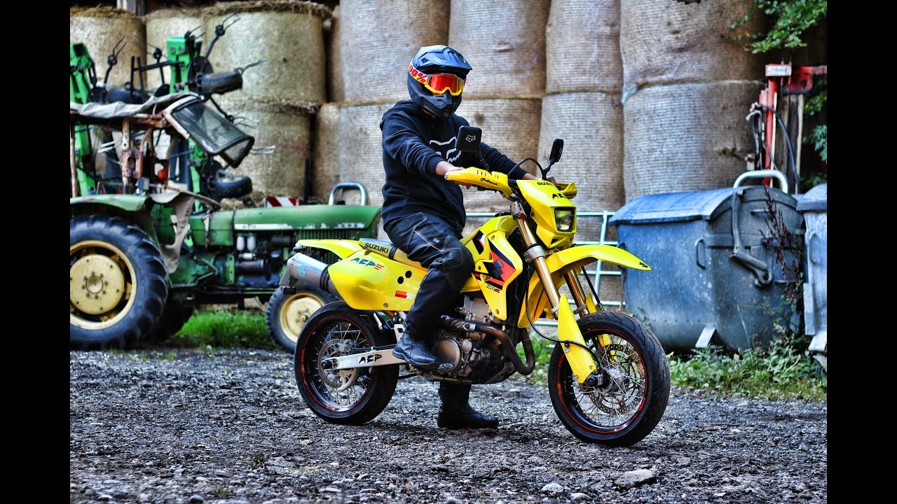 suzuki drz 400 sm bikeporn abp racing youtube. Black Bedroom Furniture Sets. Home Design Ideas