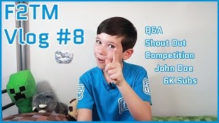 Kid Gaming Vlog #8 / Q&A / John Doe Collab / Roblox Competition / MrBrownFox Shout Out / F2TM
