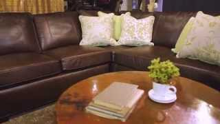 Arhaus | Upholstery | Brentwood Leather Sectional