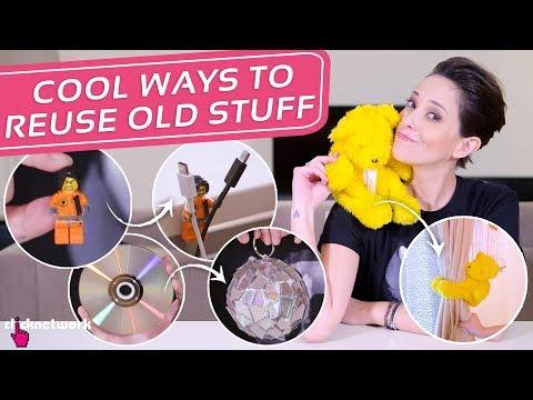 Cool Ways To Reuse Old Stuff (DIY Ideas) - Hack It: EP83