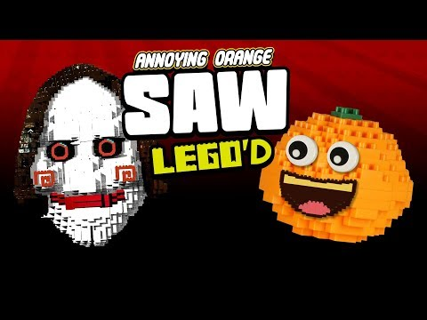 Annoying Orange Saw LEGO'd!