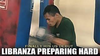 LIBRANZA PREPARES HARD FOR HIS US DEBUT AGAINST MENDOZA