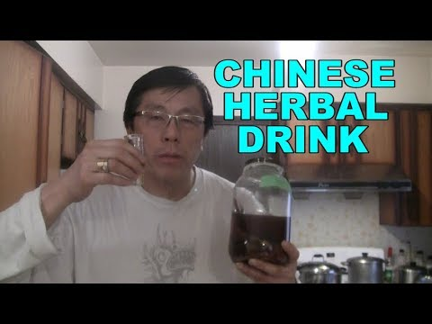 Grandpa's Secret Chinese Herbal Health Drink   (Traditional