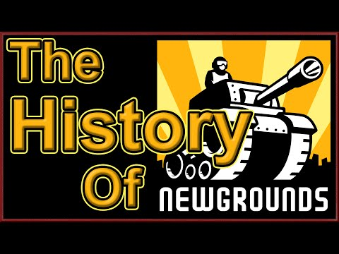 The History of Newgrounds - Red Static
