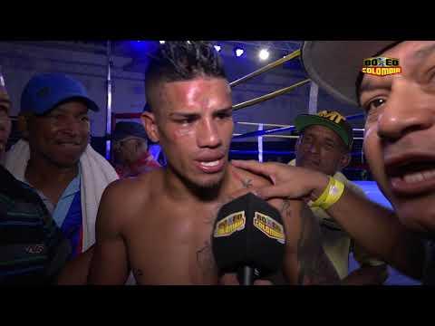 Belmar Preciado vs Franklin Manzanilla - Post fight interview