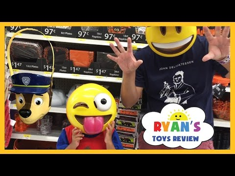 Thumbnail: TOY HUNT Ryan ToysReview Shop for Halloween Disney Cars Hot Wheels Peppa Pig Thomas Trains Kids Toys