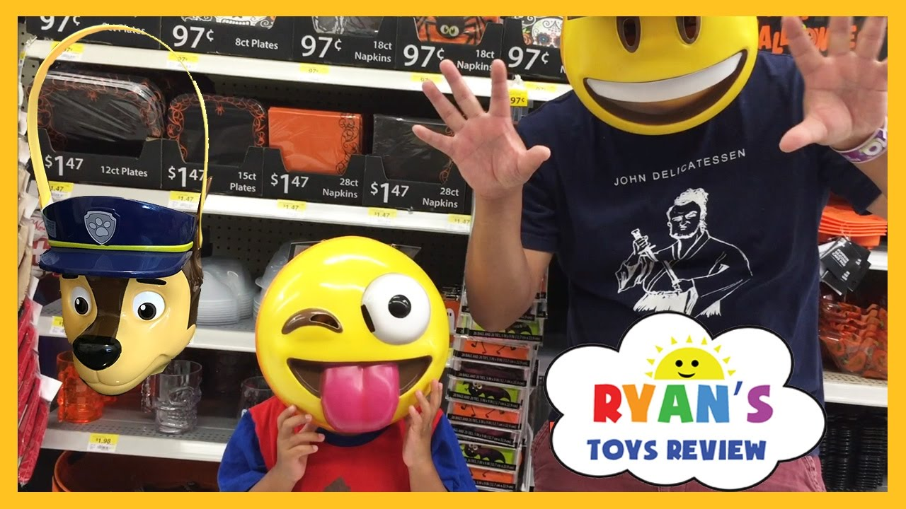 Toys For Halloween : Toy hunt ryan toysreview shop for halloween youtube