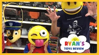 TOY HUNT Ryan ToysReview Shop for Halloween!