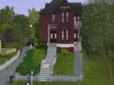 the charmed house - sims 3 halliwell manor - youtube