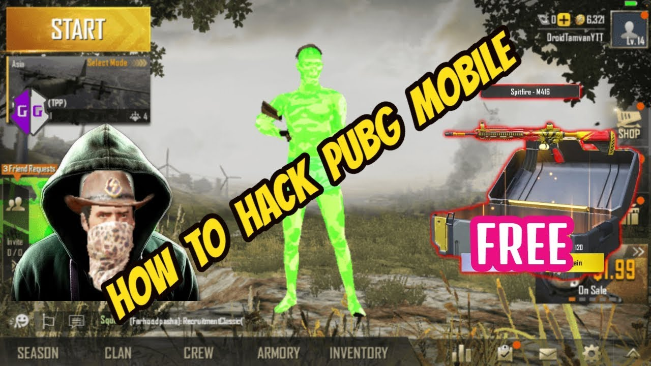 How to Hack PUBG Mobile 0 13 0 ft  Cheater Alex and Cheater Mr Groot ||  CaptainMD