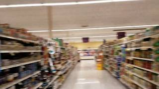 Panic Attack in a Grocery Store / Visual of how it feels