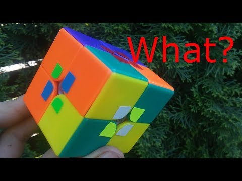 unsolvable 2x2 | sticker mod