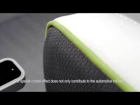 Car Interior Material Solutions - Special Crystal Effect