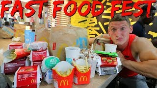 FAST FOOD FEST | The Meet Up | Full Day of Eating