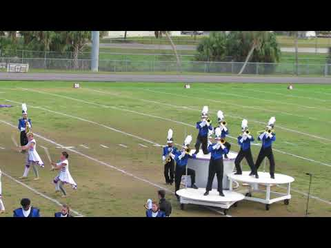 Northside Christian's Marching Band @ 2017 Tarpon Springs Outdoor Music Festival - part 2 of 3