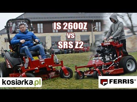 Kosiarka FERRIS IS 2600Z vs FERRIS SRS Z2 sprzedaż dealer PROSAT