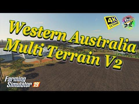 Farming Simulator 19 Maps Western Australia Multi Terrain V2 Map In 4K Resolution
