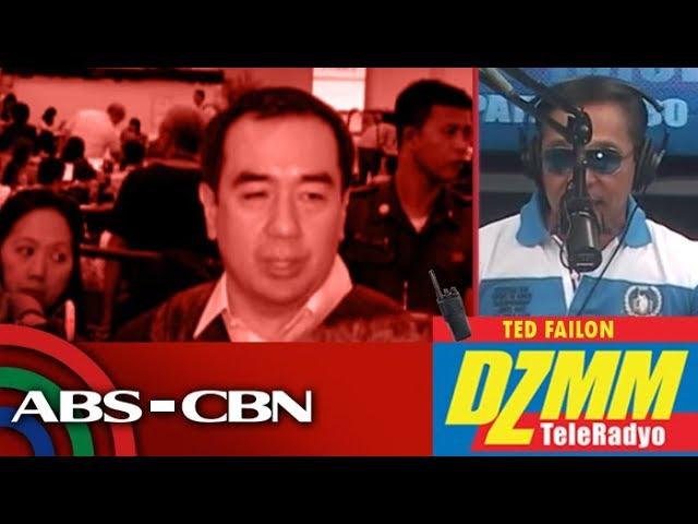 DZMM TeleRadyo: Pressed to quit, Comelec's Bautista seeks God's guidance