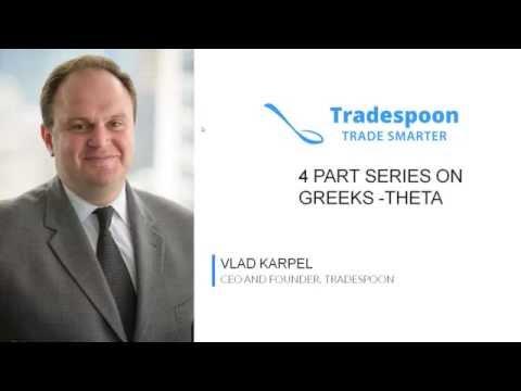 4 Part series on Greeks - Theta
