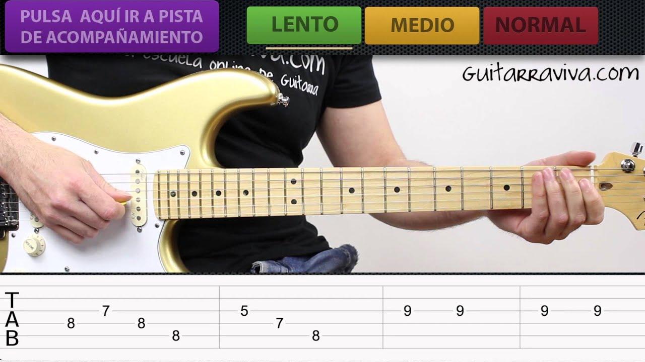 Como tocar 21 Guns Green Day GUITARRA Solo completo! paso a paso con tabs elu00e9ctrica - YouTube
