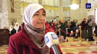 عشرات الآلاف يحيون ذكرى الإسراء والمعراج في المسجد الأقصى - (3-4-2019)