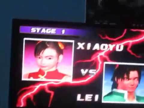 Tekken 3 T Shirt Tournament 8 Fighters Battled Youtube