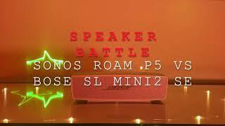 Sonos Roam vs Bose Soundlink M…