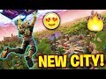 NEW CITY PRACTICE! Fortnite Battle Royale (PS4 Pro)