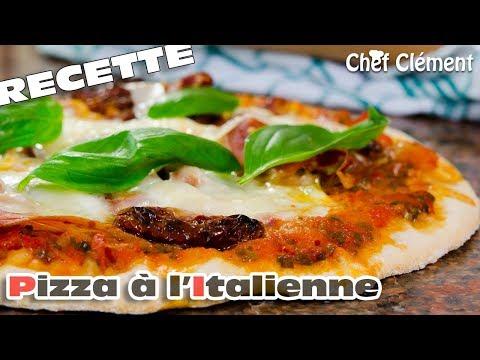 recette-facile-:-pizza-à-l'italienne---chef-clément