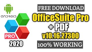 [FREE] OfficeSuite PRO + PDF 2020 v10.16.27300 (UNLOCKED) FOR ANDROID screenshot 1
