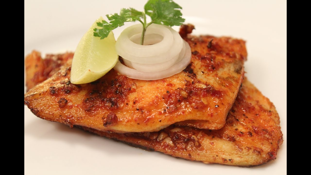 Spicy Grilled Fish Sanjeev Kapoor Khazana Youtube
