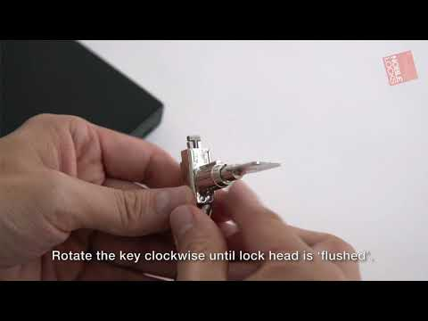 Noble Locks T Bar Lock TZ04T NG04T BN
