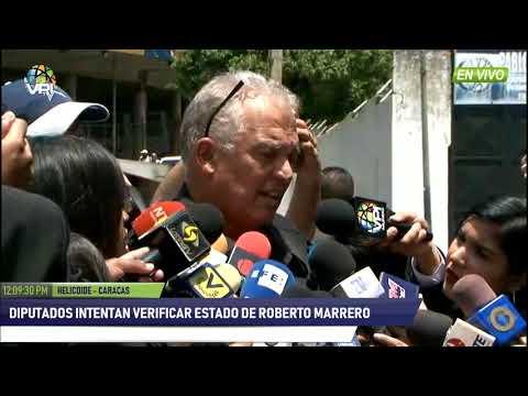 Venezuela - Entre lágrimas, hermano de Roberto Marrero exigió su libertad - VPItv