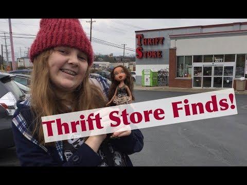 Thrift Store Finds! Spring Break Bratz Doll Hunt at Value Village Stores & a TJ Maxx Surprise!