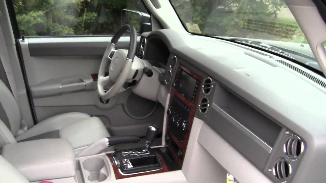 2010 jeep commander limited southern maine motors maine for Southern maine motors saco maine
