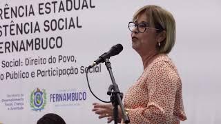 Amupe participa da XIII Conferência Estadual de Assistência Social de Pernambuco