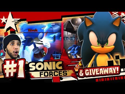 Sonic Forces (PC 4K 60FPS) Part 1 HARD MODE & GIVEAWAY