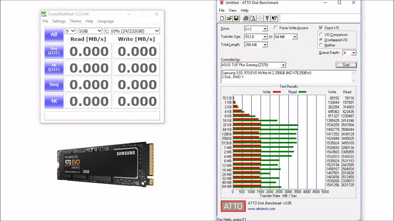 SAMSUNG 970 EVO M 2 2280 250GB NVMe Solid State Drive (SSD) MZ