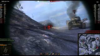 World of Tanks - M26 Pershing on Artic Region (Standard Battle) [3,984XP *2 ~ 3,138 Damage]