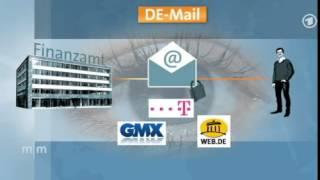 De-Mail - Wie sicher ist der neue Telekom-Dienst? ARD Mittagsmagazin