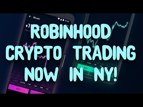 Robinhood Cryptocurrency Trading Is Live In New York!- Robinhood Cryptocurrency Review