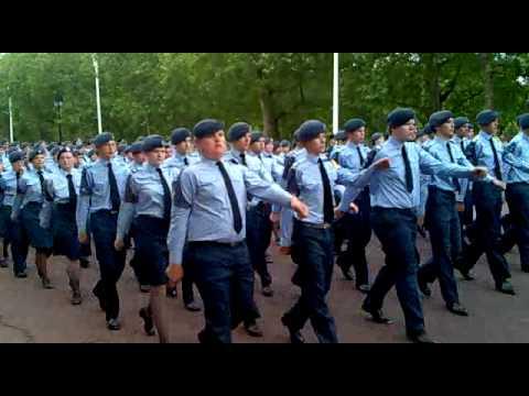 Cadet 150 parade  Air Cadet Contingent