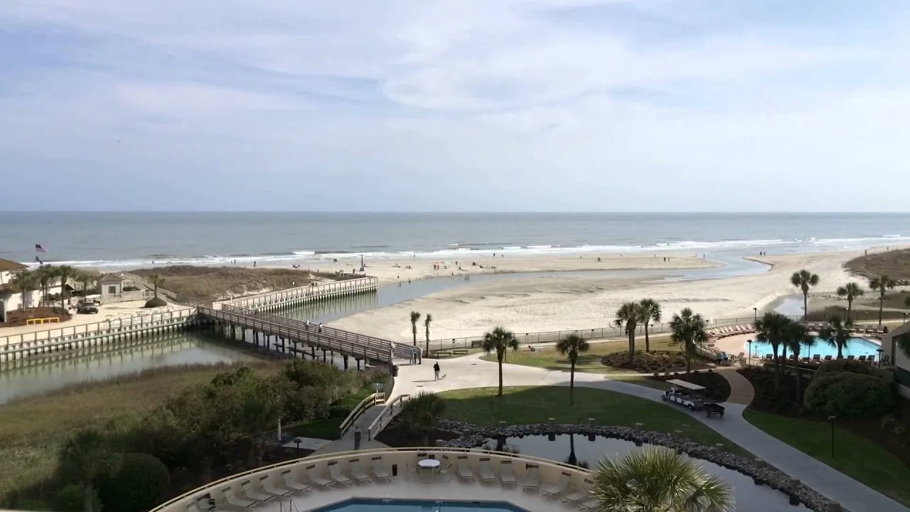 13 Hour Time Lapse In Myrtle Beach High Tide To Low Back Then Sunset