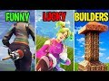 FUNNY vs LUCKY vs BUILDERS - Fortnite Battle Royale Funny Moments