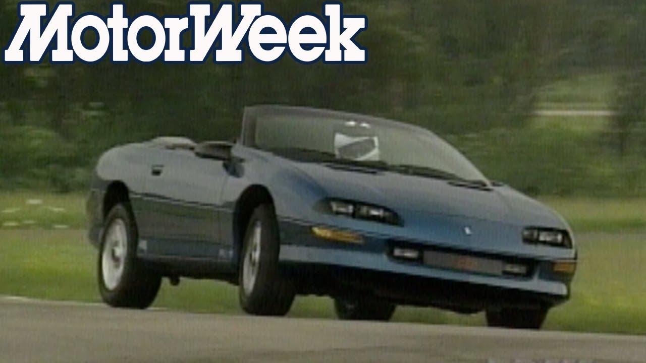 1994 Chevrolet Camaro Convertible Retro Review