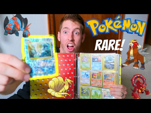 Finding RARE Pokemon Cards!!!