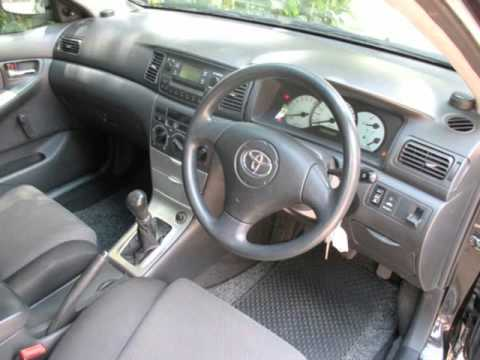 2004 toyota runx 160rt one owner fsh auto for sale on auto trader rh youtube com toyota allex manual pdf toyota allex 2002 manual